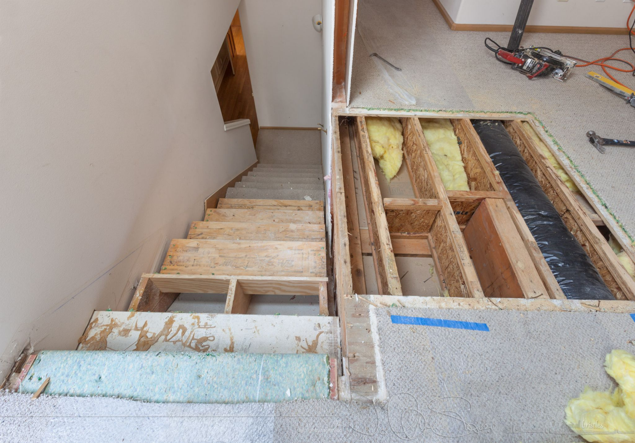 Turning The Back Stairs